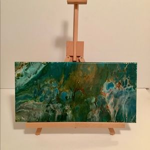 20x10 Acrylic Flow Painting.